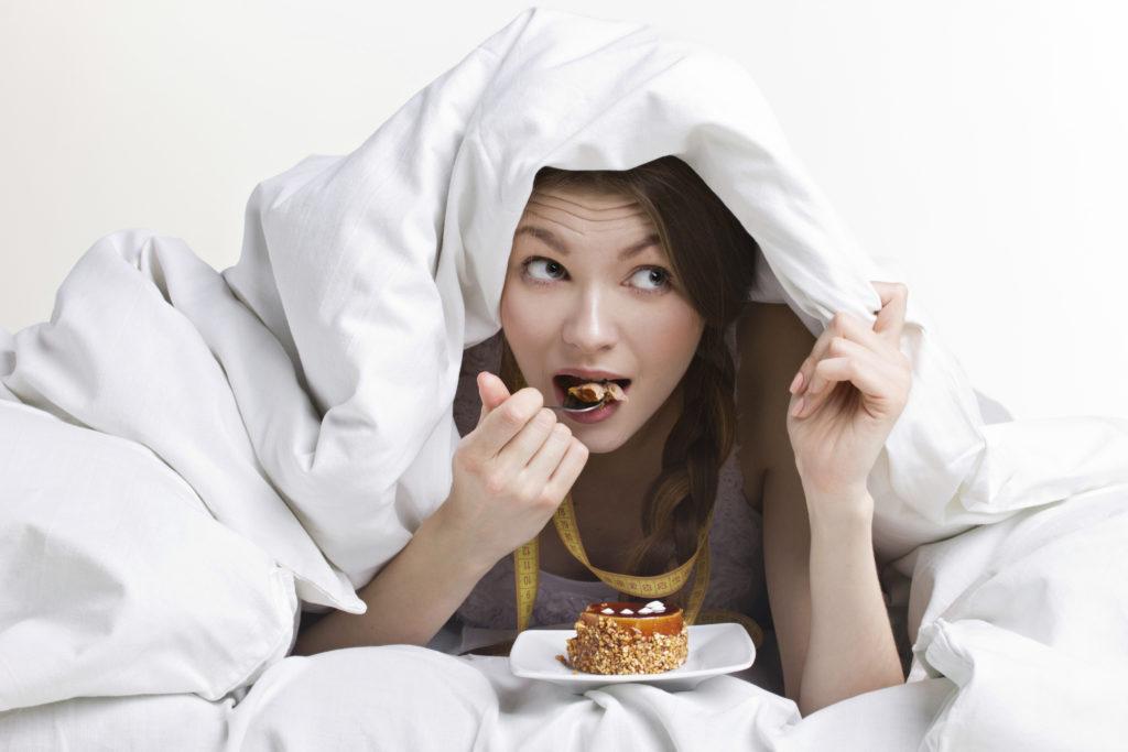 eating before sleep